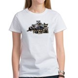 Raccoon Collage Tee