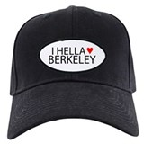I Hella [Heart] Berkeley Baseball Cap