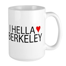 I Hella [Heart] Berkeley Mug