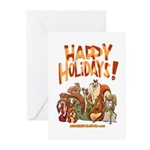 Family Holiday Greeting Cards (Pk of 10)