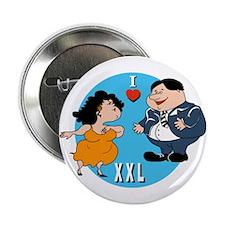 I Love XXLarge Button