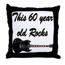HAPPY 60TH BIRTHDAY Throw Pillow