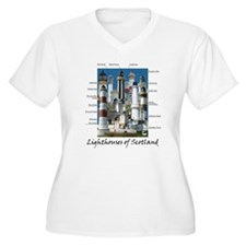 Lighthouses of Scotland T-Shirt