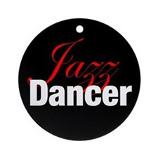 Jazz Dancer Christmas Ornament