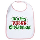 It's My First Christmas! Bib
