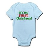 It's My First Christmas! Infant Bodysuit