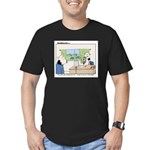 This Desk Job...... Men's Fitted T-Shirt (dark)