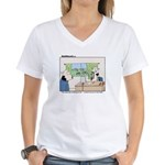 This Desk Job...... Women's V-Neck T-Shirt