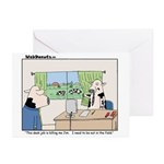 This Desk Job...... Greeting Cards (Pk of 10)