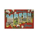 Greetings from Macon, Georgia Rectangle Magnet