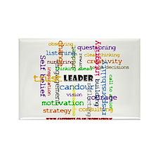Leadership Traits ColourRectangle Magnet 100 pack)