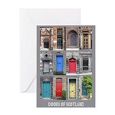 Doors of Scotland Greeting Card