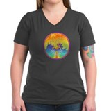 Sunset Healing OM Mandala Shirt