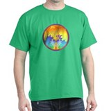 Sunset Healing OM Mandala T-Shirt