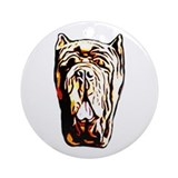 Neapolitan Mastiff Ornament (Round)