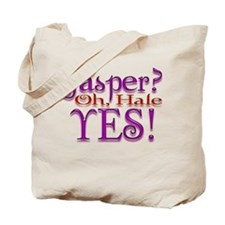 Jasper, oh Hale Yes! Twilight Tote Bag