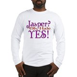 Jasper, oh Hale Yes! Twilight Long Sleeve T-Shirt
