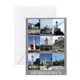 Lighthouses of Croatia Greeting Card