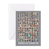 Doors of Croatia Greeting Card