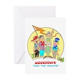 ADVENTURE Greeting Card