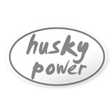 Husky POWER Oval Decal
