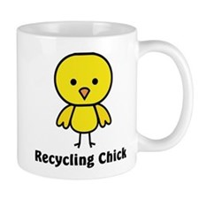 Recycling Chick Mug