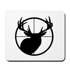 BUCK IN CROSSHAIR - Mousepad