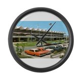 1960's MSP Int'l Airport Large Wall Clock