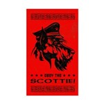 Scottish Terrier- Obey the Scottie! Sticker