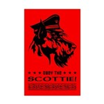 Scottish Terrier- SCOTTIE Mini Poster Print
