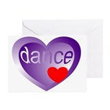 Dance Student Valentine Greeting Cards (Pk of 20)