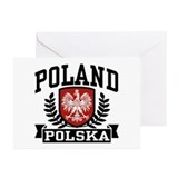 Poland Polska Greeting Cards (Pk of 10)