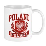 Poland Polska Coffee Mug