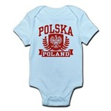 Polska Poland Infant Bodysuit