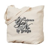 Costumes & Props Tote Bag