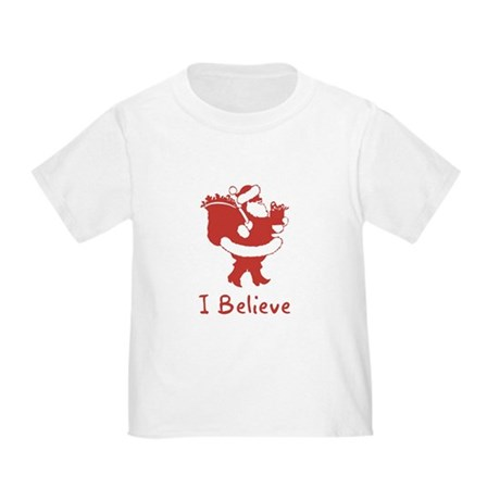 I Believe In Santa Toddler T-Shirt