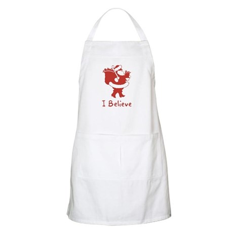 I Believe In Santa BBQ Apron