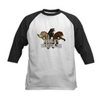 Werewolf Women Kids Baseball Jersey