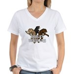 Werewolf Women Women's V-Neck T-Shirt