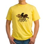 Werewolf Women Yellow T-Shirt