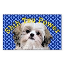 Shih Tzu Power Decal