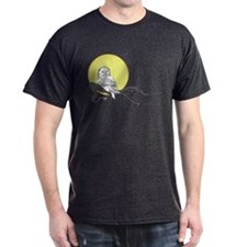 Owl on Branch (Yellow) T-Shirt