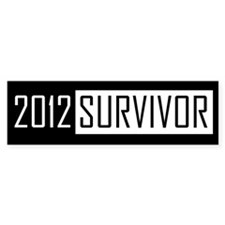 2012 Survivor - Bumper Bumper Sticker