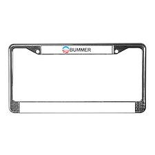 Funny Anti obama License Plate Frame