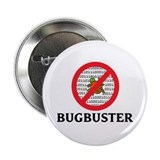 "Bug Buster 2.25"" Button (10 pack)"