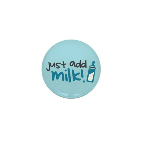 Just Add Milk Mini Button (10 pack)
