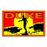 Duke Rectangle Sticker