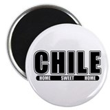 "Chile - Home Sweet Home 2.25"" Magnet (100 pack)"