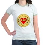 Bush True Love Golden Seal Jr. Ringer T-Shirt