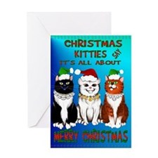 It's All About Merry Christma Greeting Card